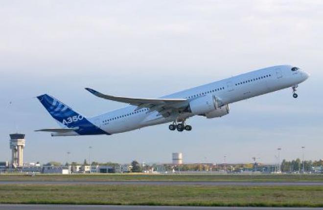 Второй самолет Airbus A350XWB присоединился к программе летных испытаний