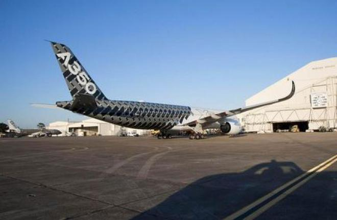 Airbus A350 XWB получит сертификат летом 2014 г.
