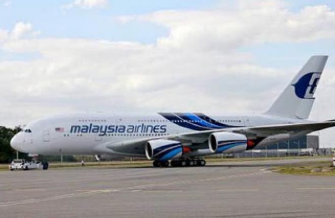 Самолет A380 авиакомпании Malaysia Airlines окрасили в специальную ливрею