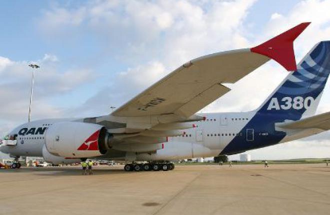 Авиакомпания Qantas Airways приостановила полеты одного из Airbus A380