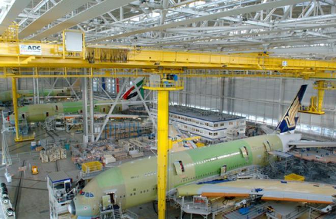 Пассажирские самолеты обеспечили рост годовой прибыли Airbus Group на 59%