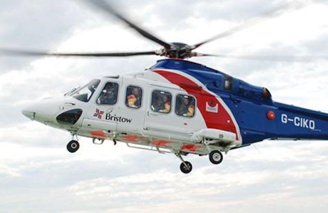 Вертолет компании Bristow