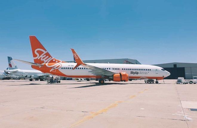SkyUp Boeing 737