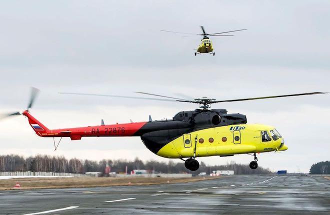 """вертолет """"ЮТэйр — Вертолетные услуги"""""""