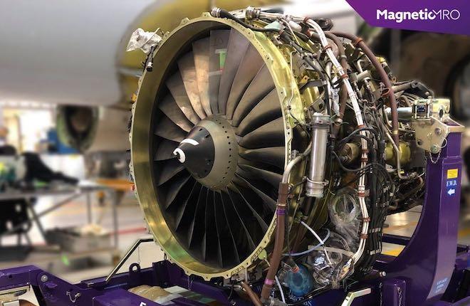 Magnetic MRO стенд для ремонта авиадвигателей