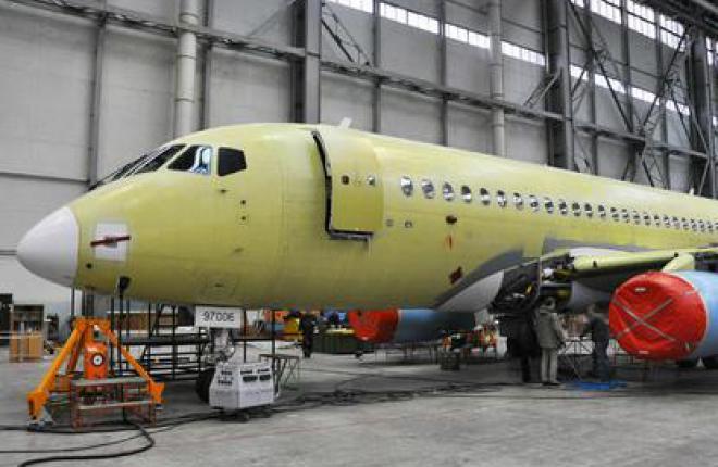 На первый SSJ 100 для авиакомпании Sky Aviation установлен салон :: ОАК