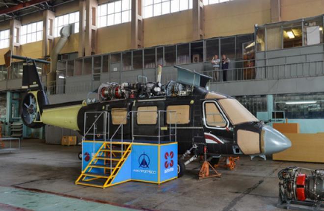 Вертолет Ка-62 полетит в декабре 2014 г.