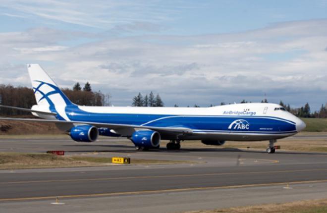 Авиакомпания AirBridge Cargo получила второй Boeing 747-8F