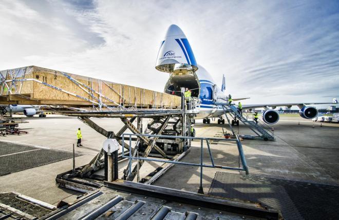 Boeing 747-400 авиакомпании ABC