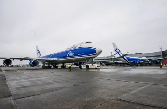 Авиакомпания AirBridgeCargo получила два Boeing 747-8F