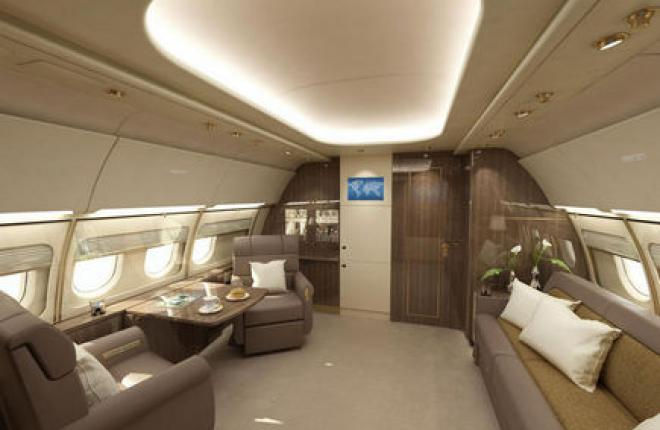 Airbus предложил новую концепцию салона для ACJ319