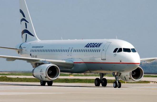 Греческая авиакомпания Aegean Airlines откроет рейсы из Афин и Салоников