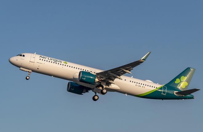 авиакомпания Aer Lingus, самолет A321neoLR