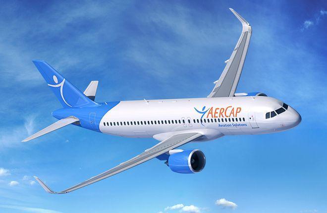 Airbus A320neo в цветах лессора AerCap
