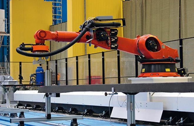 Роботизированное оборудование для проведения неразрушающего контроля на предприя