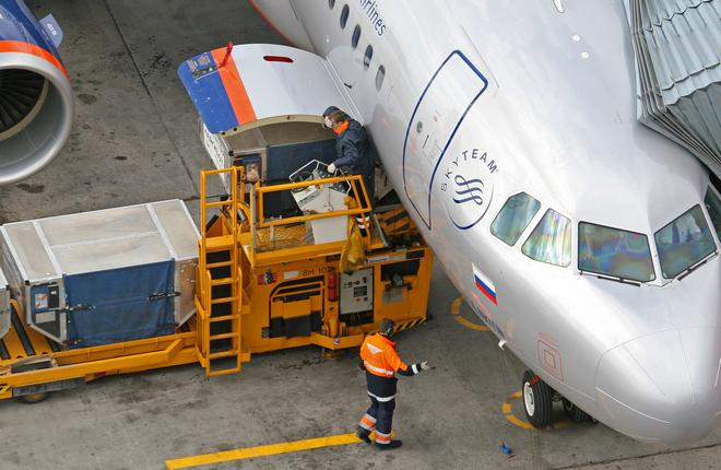 "Самолет A320 авиакомпании ""Аэрофлот"""