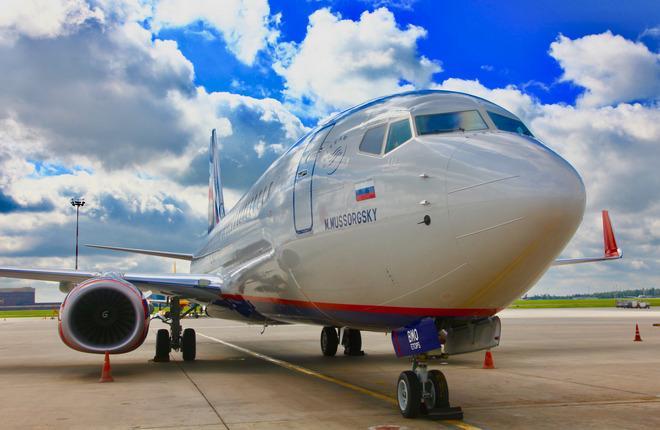 "Самолет Boeing 737-800 авиакомпании ""Аэрофлот"""