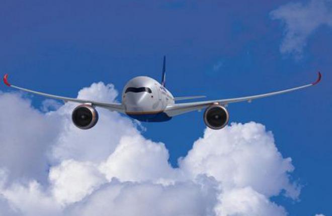 """Аэрофлот"" растянет поставки самолетов Airbus А350 XWB до 2023 г."