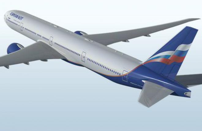 """""""Аэрофлот"""" получит первый самолет Boeing 777 в январе 2013 г."""