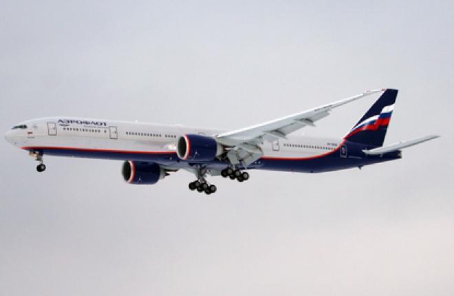 """""""Аэрофлот"""" ввел в эксплуатацию третий Boeing 777-300ER"""