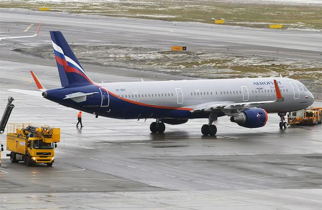 "A321 ""Аэрофлота"""