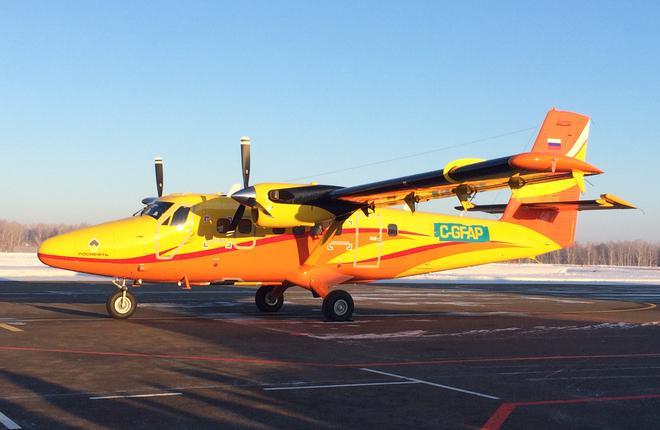 """""""АэроГео"""" стала авторизованным центром обслуживания Twin Otter"""