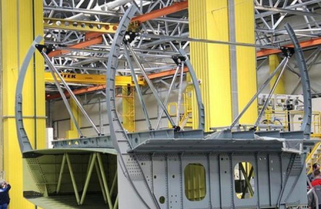Центроплан для МС-21 доставили на Иркутский авиационный завод