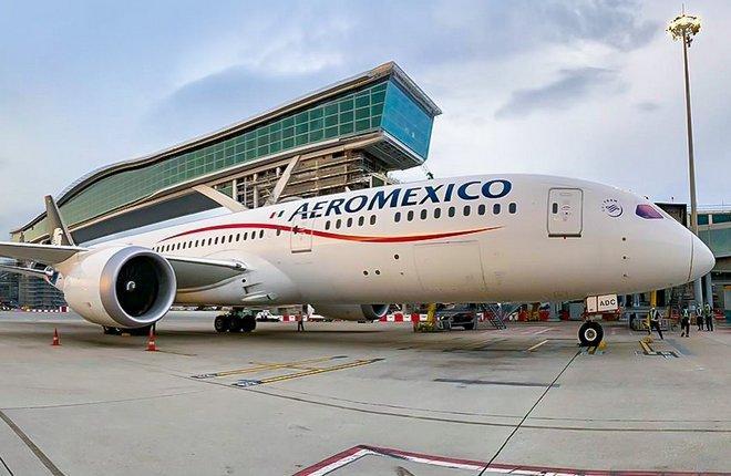 авиакомпания Aeromexico, самолет Boeing 787