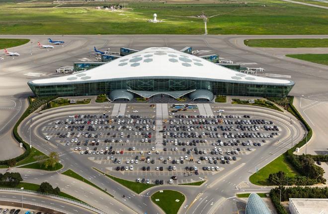 Пассажиропоток аэропортов Азербайджана 2019