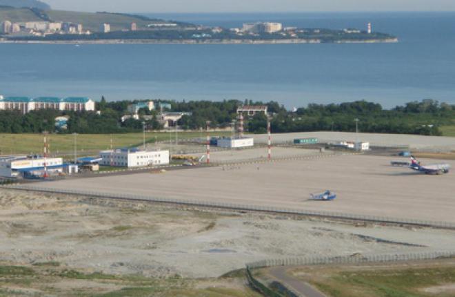В аэропорту Геленджика будет построен новый терминал