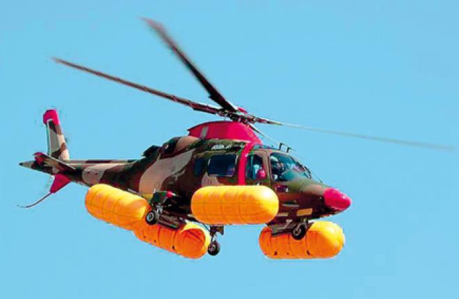 Баллонеты от Aero Sekur устанавливаются на многие модели вертолетов, в том числе на AW109