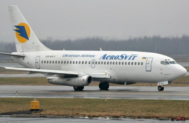 """Украинская авиакомпания """"АэроСвит"""" будет чаще летать в Будапешт"""