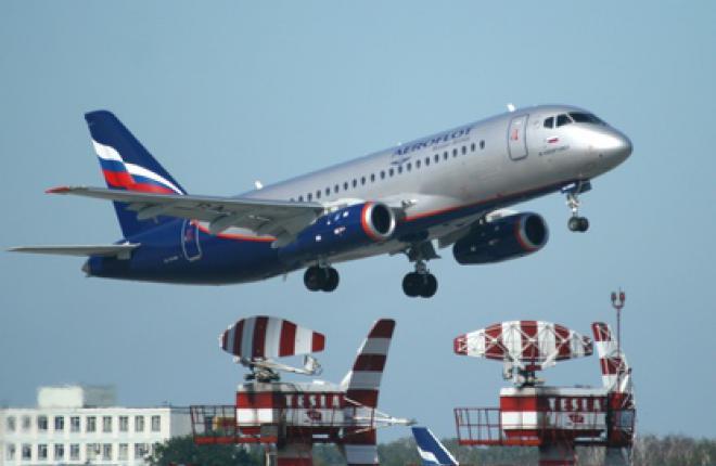 """Самолеты Sukhoi Superjet 100 авиакомпании """"Аэрофлот"""" налетали 2381 часов"""
