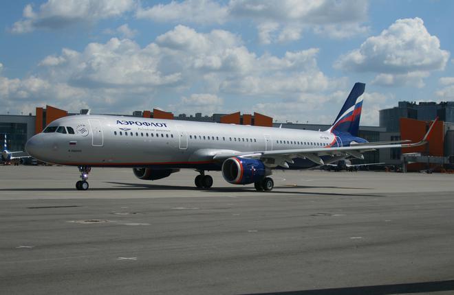 """""""Аэрофлот"""" получил четыре самолета Airbus A321"""