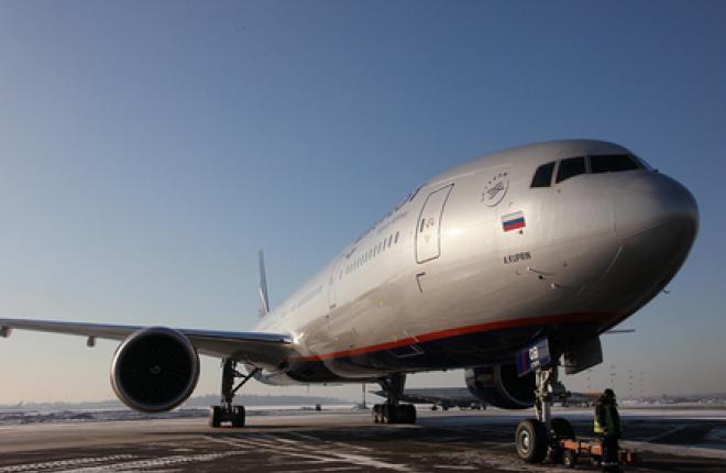 "Boeing Shanghai проведет C-check четырех самолетов Boeing 777 ""Аэрофлота"""