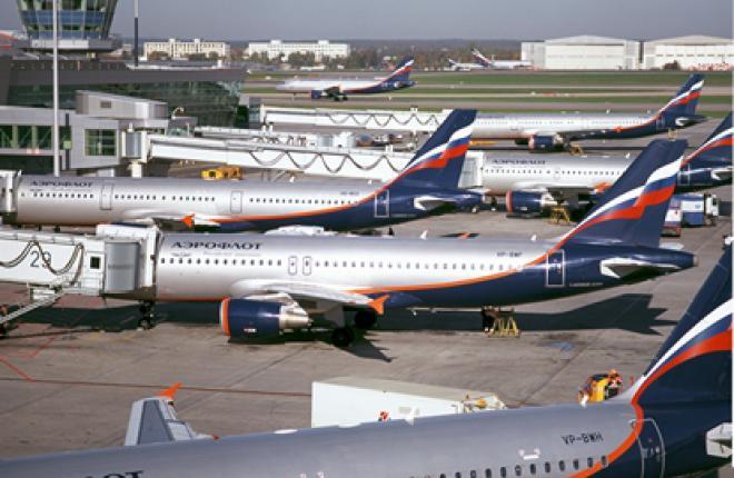 """Авиакомпания """"Аэрофлот"""" вытесняет из Шереметьево конкурентов и партнеров"""