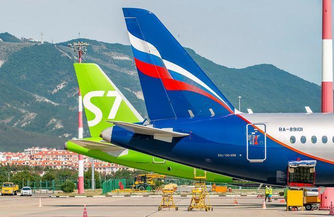 аэрофлот s7 airlines (сибирь)