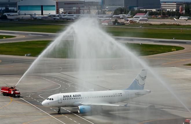 Французская авиакомпания Aigle Azur полетела из Парижа в Москву