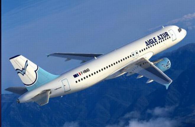 Авиакомпания Aigle Azur будет летать в Москву из Лиона