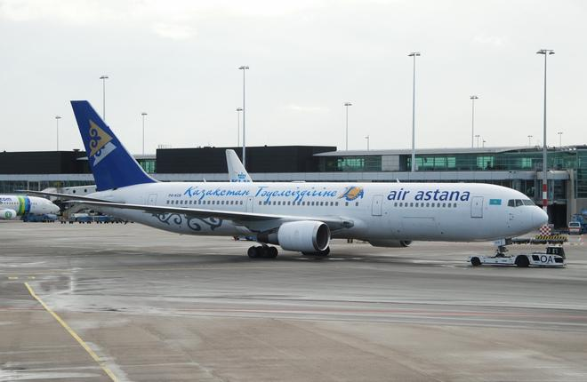 Самолет Boeing 767 авиакомпании Air Astana