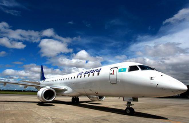 К маю 2012 года у авиакомпании Air Astana будет шесть самолетов Embraer 190