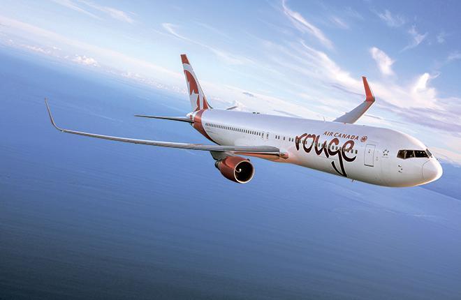 До 50 самолетов может получить лоукостер Rouge, принадлежащий Air Canada.