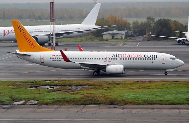 За время работы Эрмека Омуралиева в гражданской авиации Киргизии авиакомпания Air Manas пробрела два Boeing 737-800 :: Анна Зверева // Wikimedia