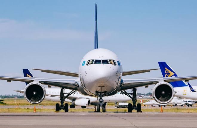 самолеты авиакомпании Air Astana (Казахстан)