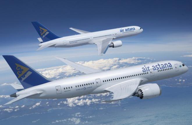 Авиакомпания Air Astana увеличила частоту полетов в Гонконг