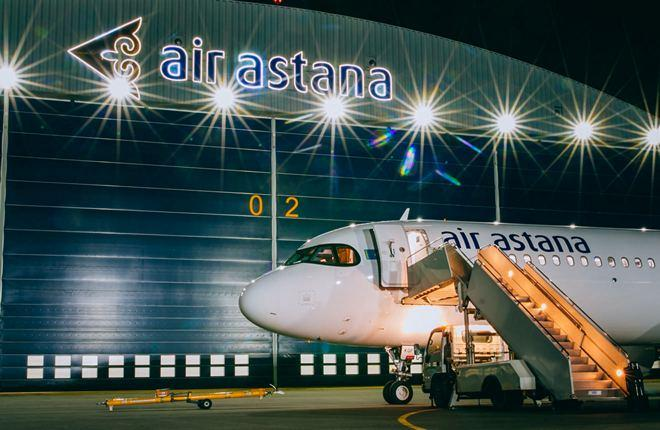 шестой A321LR авиакомпании Air Astana