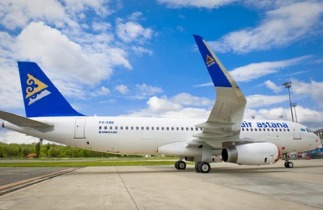 Авиакомпания Air Astana получила первый самолет Airbus A320 с законцовками крыла