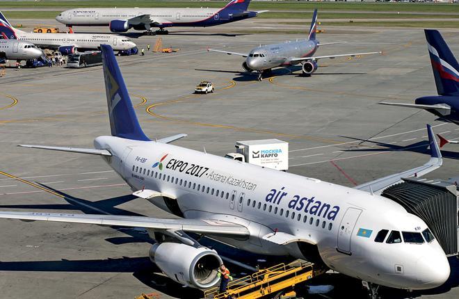 Казахстанская авиакомпания Air Astana — один из клиентов BSB Aviation // Фото: Air Astana