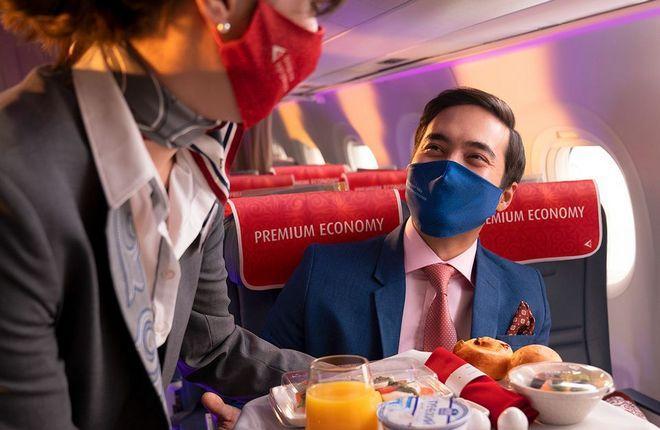 Air Astana премиальный экономкласс