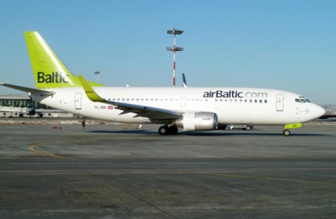 Латвийская авиакомпания АirBaltic предлагает купить дополнительное место